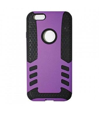 Lyte Case The rocket 2 in 1 slipproof and shockproof case for iPhone 6 (4.7) Dual Protection, Power Grip Technology (Purple)