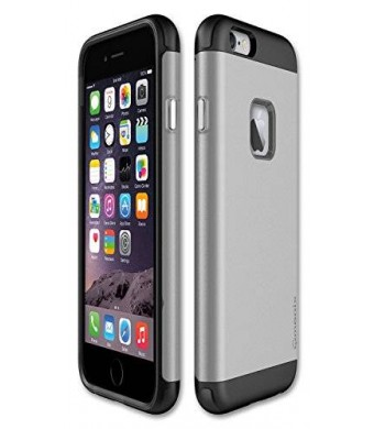 Qmadix Cell Case for Apple iPhone 6s - Retail Packaging - Silver