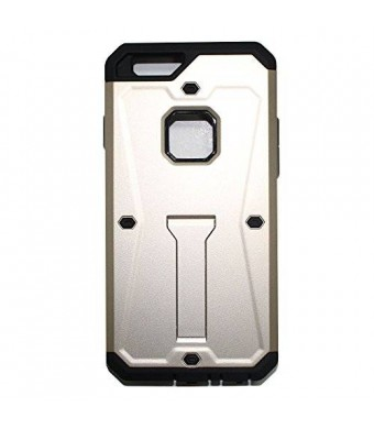 Lyte Case Tank Armor I Phone 6 case, Dual layer Protection,Built in Kick stand Life Proof (Gold)