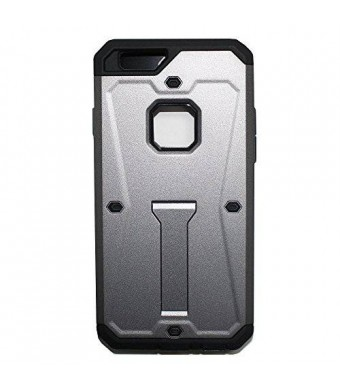 Lyte Case Tank Armor I Phone 6 case, Dual layer Protection,Built in Kick stand Life Proof (Dark Grey)