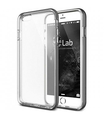 "iPhone 6 Case, Verus [Crystal Bumper][Steel Silver] - [Clear][Drop Protection][Heavy Duty][Minimalistic][Slim Fit] - For Apple iPhone 6 4.7"" Devices"