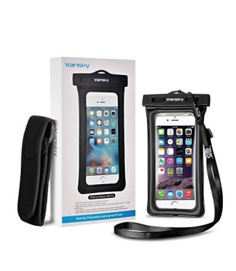 Vansky Floating Waterproof Case Dry Bag with Armband and Audio cable for iPhone 6
