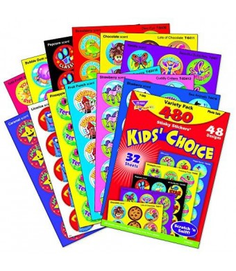 Trend Kids' Choice Stinky Stickers? Variety Pack