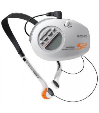 Sony SRFM85W S2 Sports Walkman Digital Tuning Weather/AM/FM Stereo Armband Radio (White)