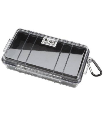 Pelican 1060 Micro Dry Case with Clear Lid - Black