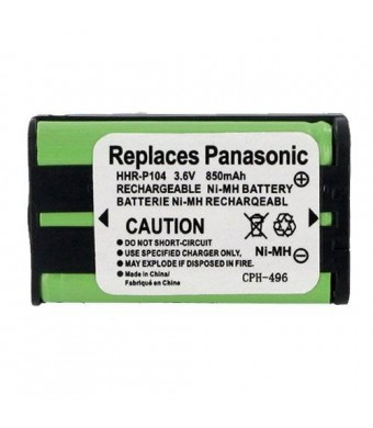 EMPIRE 1 X Radio Shack 23-908 Cordless Phone Battery 3.6 Volt, Ni-MH 850mAh - Replacement For PANASONIC HHR-P104