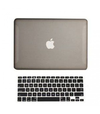 """TOP CASE TopCase 2-in-1 Rubberized Hard Case Cover and Keyboard Cover for Macbook White Unibody 13"""" (A1342"""