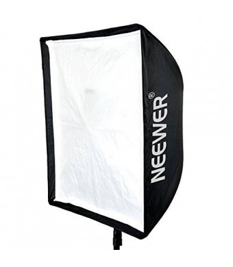 """Neewer 28"""" x 28""""/70cm x 70cm Speedlite, Studio Flash, Speedlight and Umbrella Softbox with Carrying Bag for Portrait or Product Photography"""