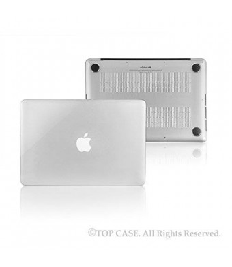 """TOP CASE TopCase Clear Crystal Hard Case Cover for Apple MacBook Pro 13.3"""" with Retina Display Model: A1425 and A1502"""