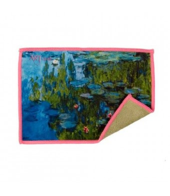 Lynktec Smartie Microfiber Cleaning Cloth for iPad and Touchscreens (Water Lilies)