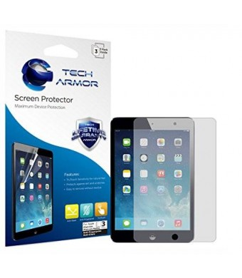 Tech Armor Apple iPad Mini 3 / iPad Mini 2 / iPad Mini [NOT Mini 4] Anti-Glare/Anti-Fingerprint (Matte) Screen Protectors [3-Pack] Lifetime Warranty