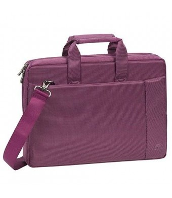 "RivaCase Stylish Laptop Bag 8231 15,6"" violet With Padded Compartment For Extra Protection"