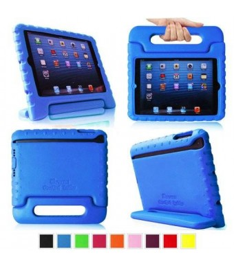 iPad mini Case - Fintie iPad mini 3 / iPad mini 2 / iPad mini Kiddie Case, Light Weight Shock Proof Convertible Handle Stand Kids Friendly, Blue