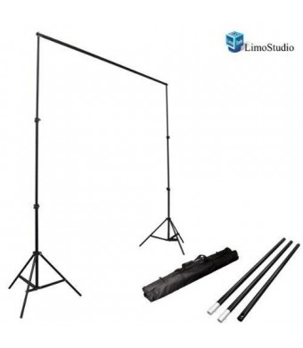 LimoStudio Photo Video Studio 7.5Ft Adjustable Muslin Background Backdrop Support System Stand, AGG1114