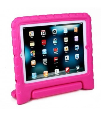 HDE Kids Light Weight Shock Proof Handle Case for iPad 2/3/4 (Pink)