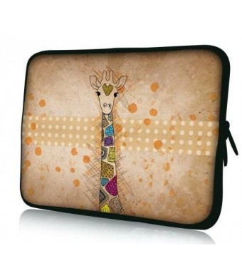 """Colorfulbags Universal Giraffe 11.6 12 12.1 12.2 inches Laptop Neoprene Soft Bag Computer Sleeve Cover Case Pouch For 11.6"""""""