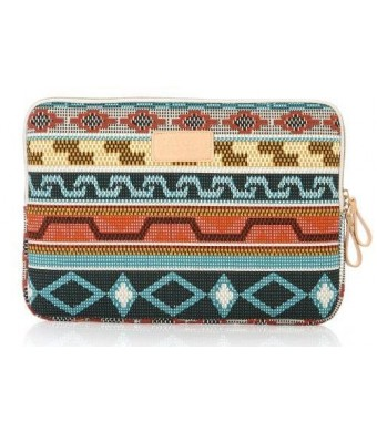 Kayond Retro Style Canvas Fabric 11-11.6 Inch for Laptop / Notebook Computer / Macbook Air Sleeve Case Bag Cover