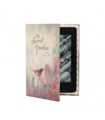 KleverCase Kindle Paperwhite Case (inc all new 2015 version) Book Cover Style - The Secret Garden