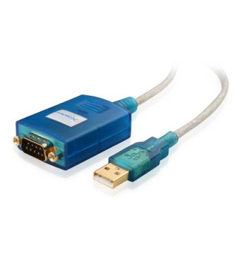 Cable Matters USB to RS-232 DB9 Male Serial Cable 3 Feet