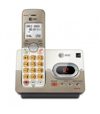 AT&T ATandT EL52113 DECT 6.0 Phone Answering System with Caller ID/Call Waiting, 1 Cordless Handsets