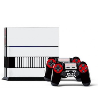 247Skins PS4 Console Designer Skin for Sony PlayStation 4 System plus Two(2) Decals for: PS4 Dualshock Controller Controlled