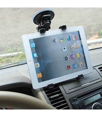 Dealgadgets Universal Tablet Car Mount Holder for Samsung Galaxy Tab 4 3