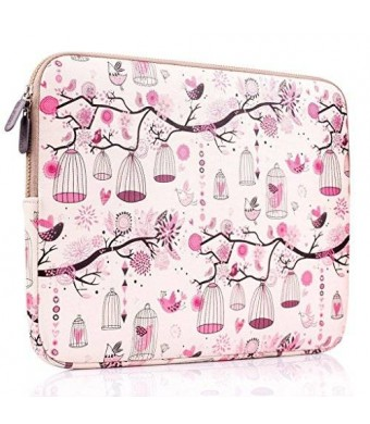 Laptop Sleeve, PLEMO Homage to Freedom Neoprene 12-12.5 Inch Netbook / Laptop / Notebook Computer Sleeve Case Bag Cover, Pink