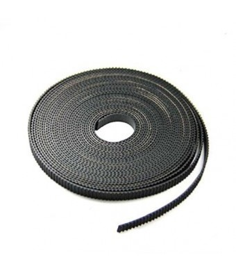 FbscTech 10 Meters GT2 timing belt width 6mm Fit for RepRap Mendel Rostock Prusa GT2-6mm Belt linear Motion