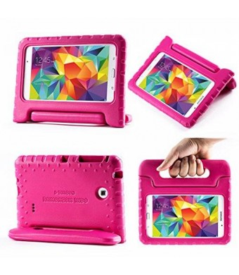 i-Blason Samsung Galaxy Tab 4 8.0 Case - ArmorBox Kido Series Light Weight Super Protection Convertible Stand Cover Case (Gaalxy Tab 4 8.0, Pink)