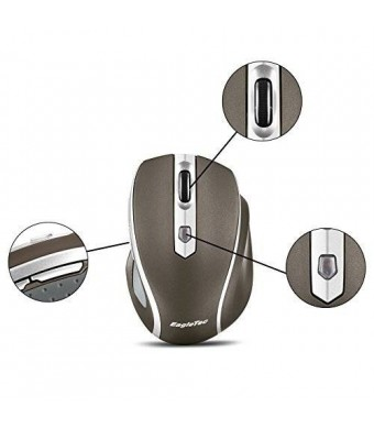 EagleTec MR5M2509 2.4GHz Wireless Optical Mouse