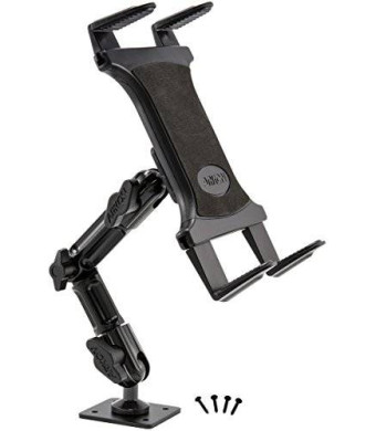 Arkon Heavy Duty Tablet Wall Mount with 8 inch Arm and AMPS Drill Base for iPad Air iPad Pro iPad 4 3 2 Galaxy Note 10.1