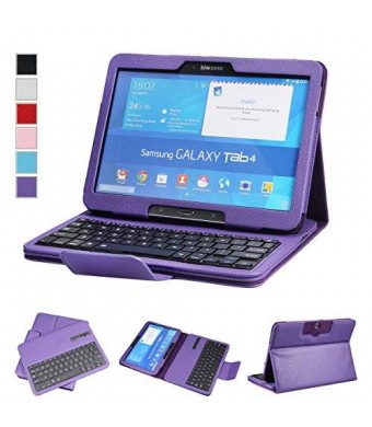 NEWSTYLE Samsung Galaxy Tab 4 10.1 Keyboard Case