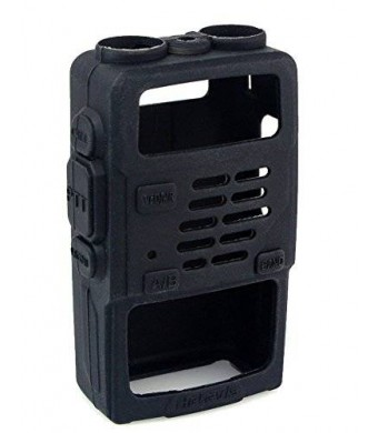 Retevis Rubber Soft Handheld 2 Way Radio Case Holster Protection for Baofeng BF-UV5R UV-5RV UV-5RE UV5R+ UV-985 Retevis RT-5R RT-5RV WalkIe Talkies