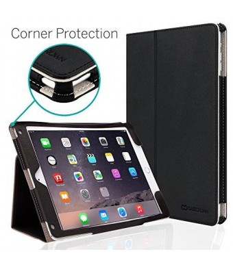 CaseCrown Bold Standby Pro Case (Black) for Apple iPad Air 2 with Hand Grip