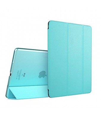 iPad Air 2 Case, ESR Smart Case Cover with Trifold Stand and Magnetic Auto Wake and Sleep Function for iPad Air 2 / iPad 6th Generation (Sky Blue)