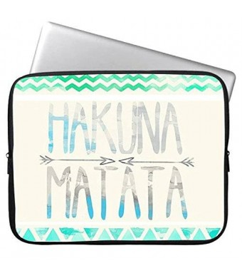 Elonbo(TM) HAKUNA MATATA 12.9-13-13.3 Inch Waterproof Neoprene Sleeve Case Bag
