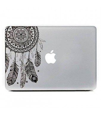 """iCasso Dream Catcher Removable Vinyl Decal Sticker Skin for Apple Macbook Pro Air Mac 13"""" inch / Unibody 13 Inch Laptop"""
