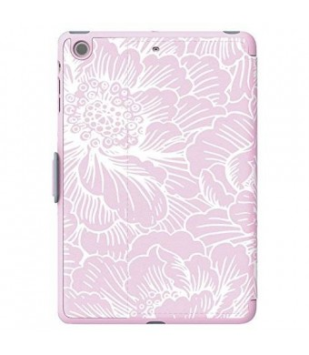 Speck Products Design Speck Products StyleFolio Case for iPad Mini/2/3 (SPK-A3349) - Freshfloral Pink/Nickel Grey