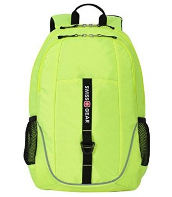 Swiss Gear SwissGear Laptop Computer Backpack SA6639 (Neon Yellow) Fits Most 15 Inch Laptops