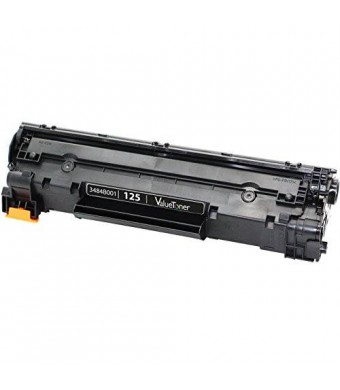 ValueToner Compatible Toner Cartridge Replacement for Canon 125 (3484B001AA) 1 Black Toner Compatible With ImageClass LBP6000