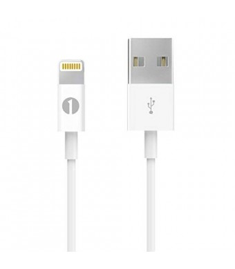[[Apple MFI Certified] 1Byone Lightning to USB Cable 3.28ft (1M) for iPhone 6/6s