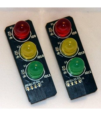 Low Voltage Labs Pi Traffic Light for the Raspberry Pi (2 pack)