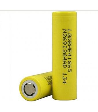 2pcs 18650 2500mah LG Chem 18650HE4 3.6V IMR 18650 battery