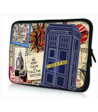 """iColor Universal Cool Building 9.7"""" 10"""" 10.1"""" 10.2"""" Laptop Tablet PC Sleeve Case Bag Pouch Cover Protector For 9.7"""