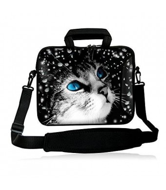 Colorfulbags Universal Blue Eye's Cat 9.7 10 10.1 10.2-Inch Tablet