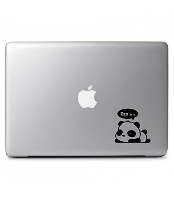 "DUCKIN'COOL! Cute Sleeping Dreaming Panda - Macbook Air 11"" 13"" / Macbook Pro 13"" 15"" 17"" Laptop Vinyl Decal Sticker"