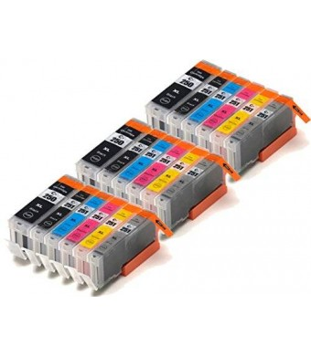 Blake Printing Supply  18 Pack Compatible Ink Cartridges for PIXMA MG7520