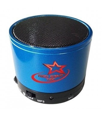 Red Star Tec MusicDrum Portable BlueTooth Speaker - Best Indoor and Outdoor Wireless Speakers for the iPhone
