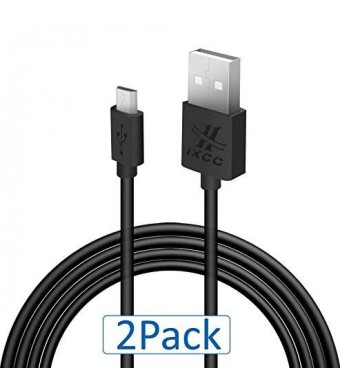 [New Element Series] iXCC  2pcs 10ft (TEN FEET) Premium [High Speed][Extra Long][Corrosion Resistant] USB 2.0 - Micro USB to USB Cable