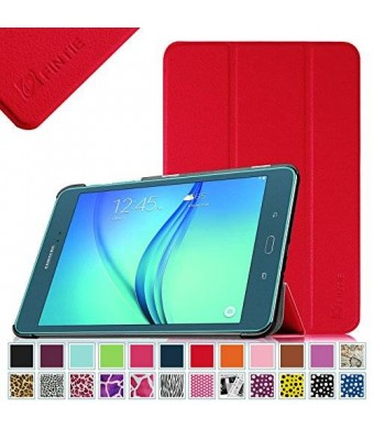 Fintie Samsung Galaxy Tab A 8.0 Smart Shell Case - Ultra Slim Lightweight Stand Cover with Auto Sleep